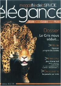 Illustration Magazine Elégance