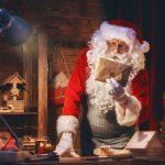 Illustration Comment joindre le Père Noël... J'écris ou je me connecte ?